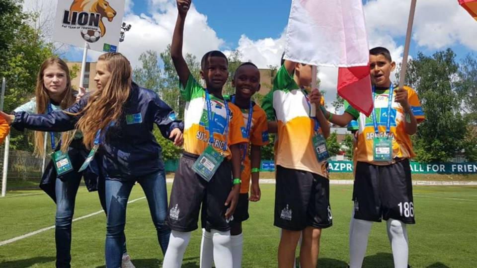 Young Bafana Journal: Opening ceremony for Football 4 Friendship