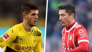 Christian Pulisic Robert Lewandowski Split