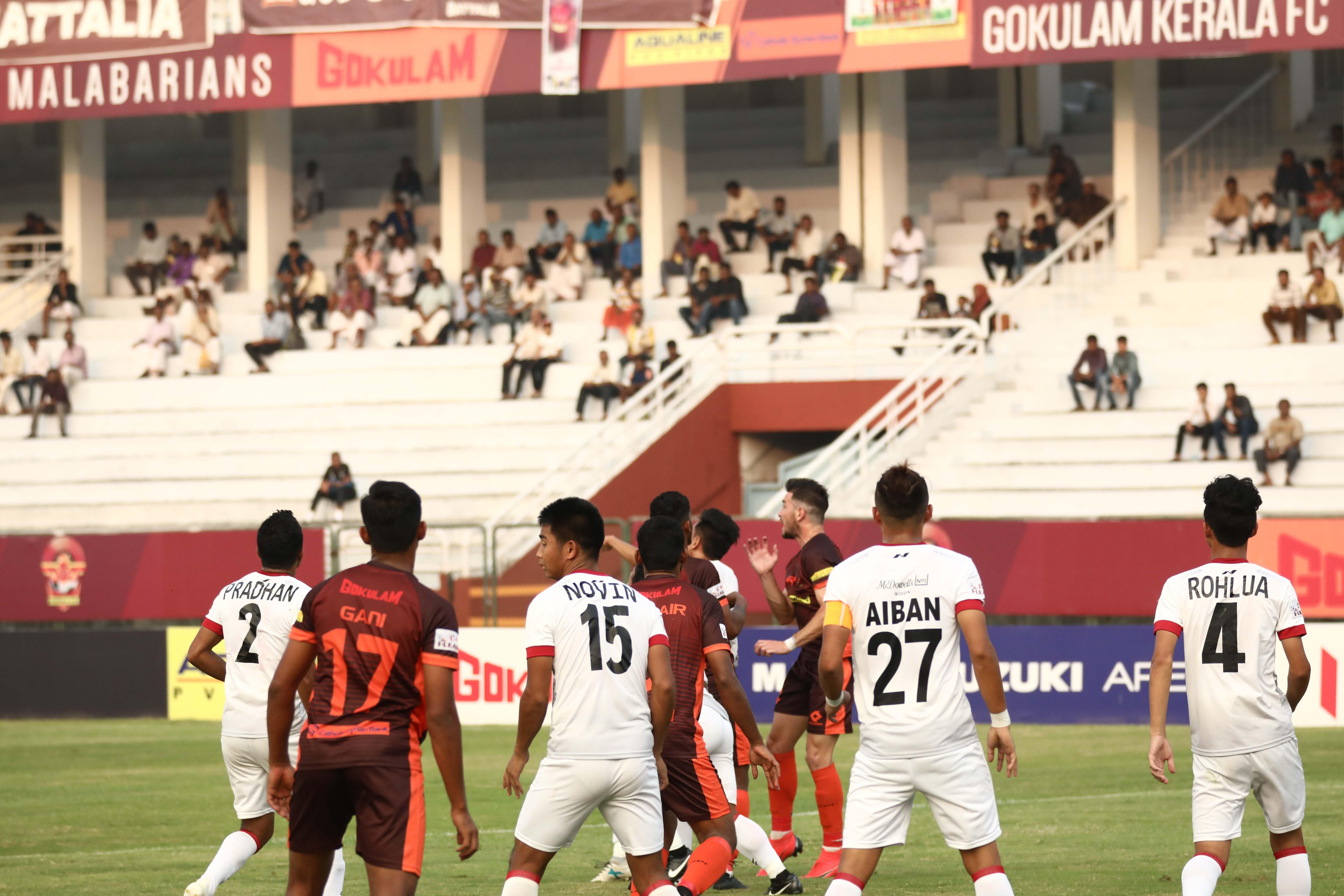 Gokulam Kerala vs Lajong