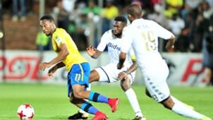 Sibusiso Vilakazi of Sundowns against Bidvest Wits