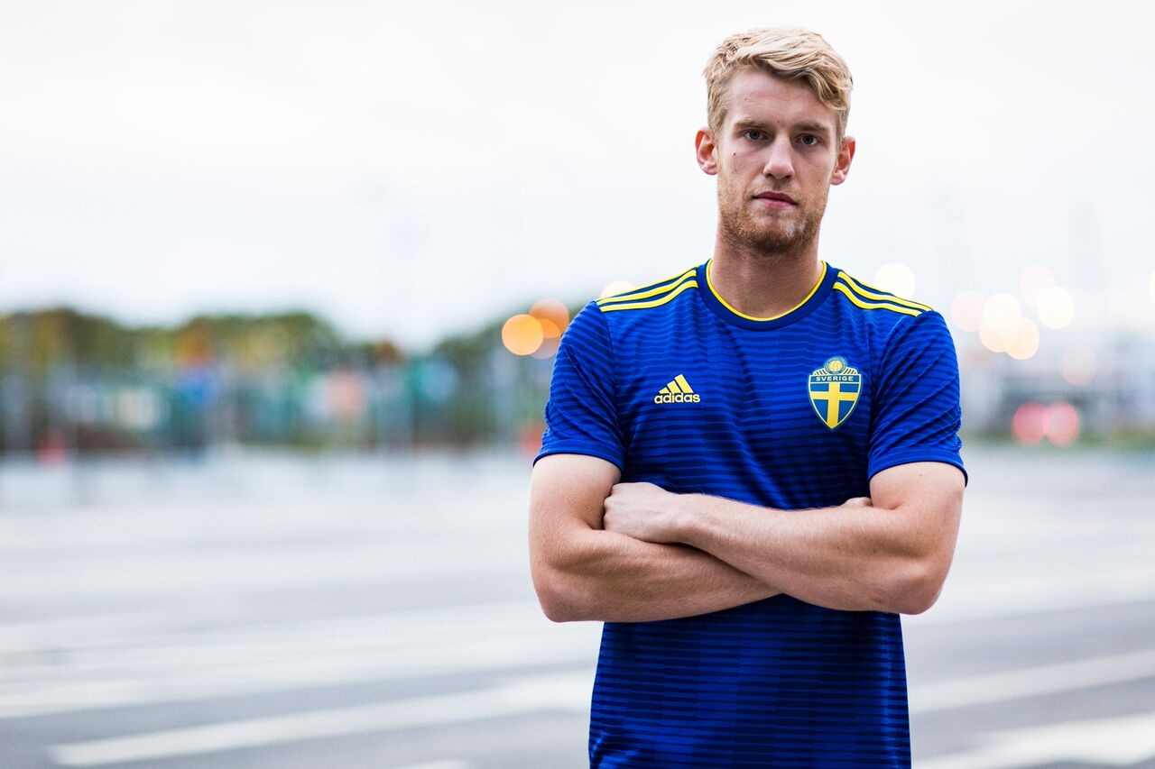 Camisetas alternativa Suecia Mundial