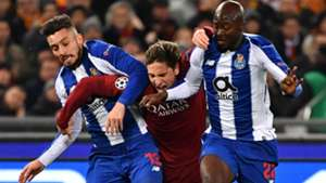 Zaniolo Roma Porto Champions League