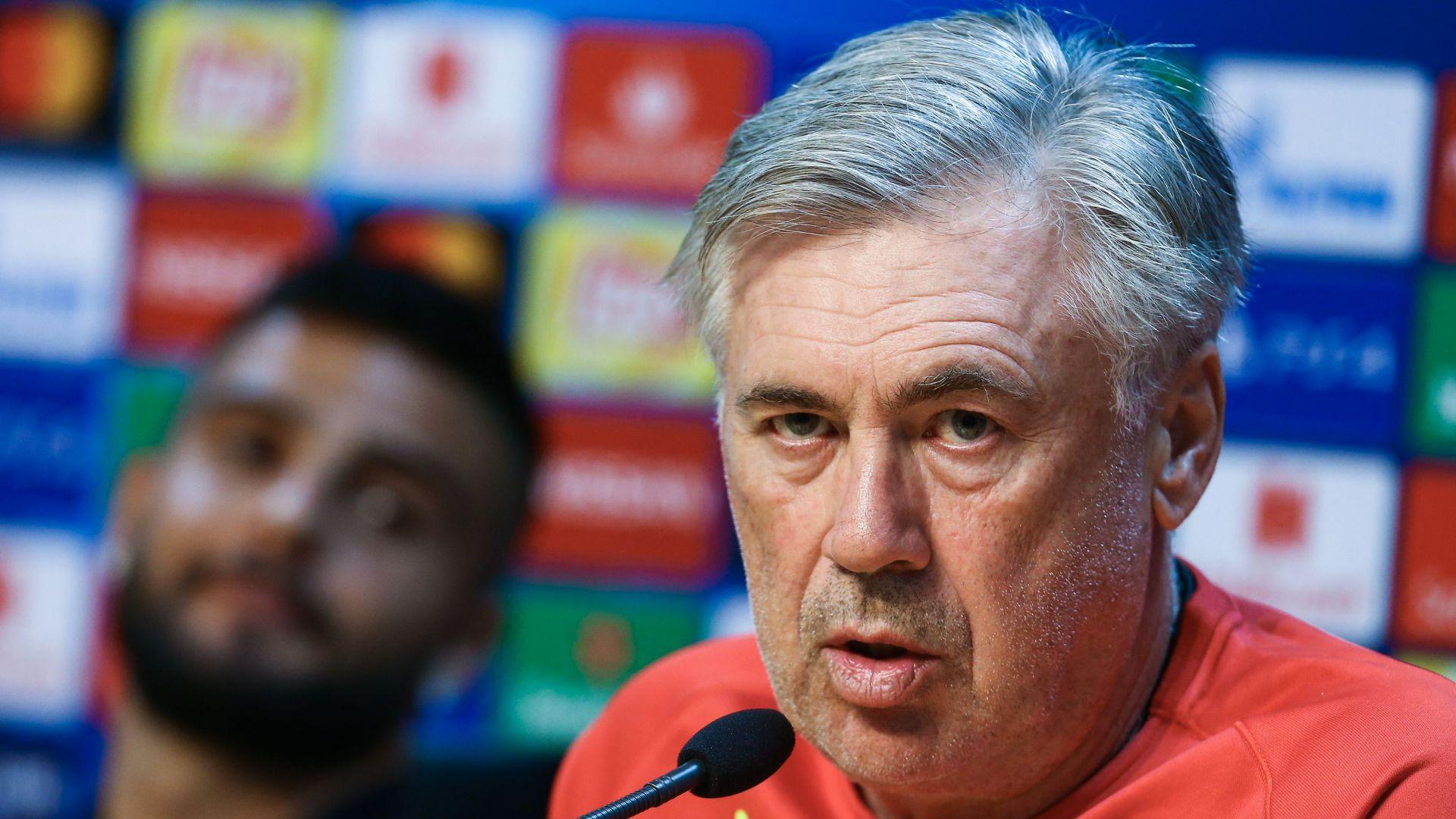 Carlo Ancelotti Napoli Liverpool press conference
