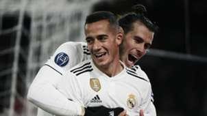 Lucas Vazquez Gareth Bale Roma Real Madrid UCL 27112018
