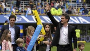 Guillermo Barros Schelotto Boca Union Fecha 30 Campeonato Primera Division