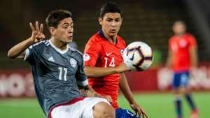 Junior Noguera Cesar Perez Paraguay Chile Sudamericano Sub 17 14042019