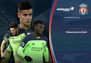 Liverpool West Ham Malaysia Airlines