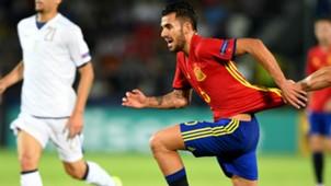 Dani Ceballos Spain Italy European U21