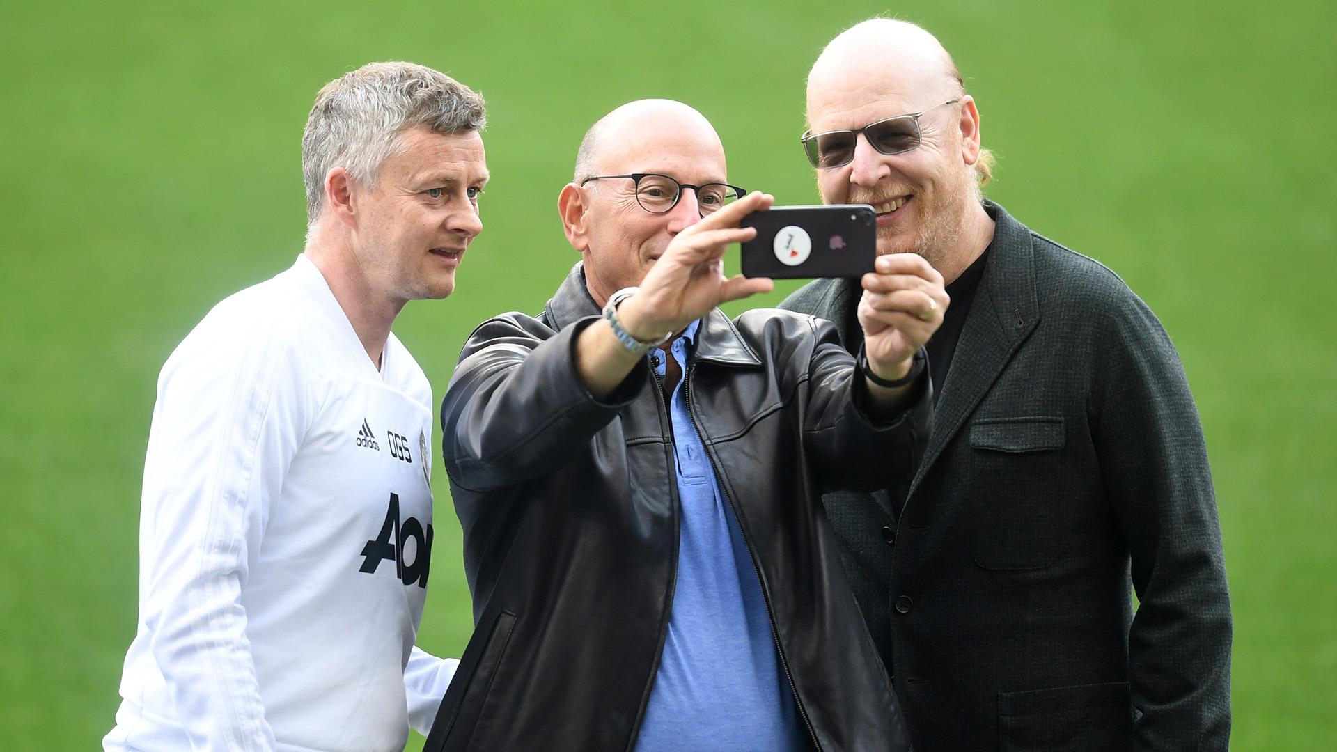 Ole Gunnar Solskjaer Manchester United Joel Glazer Avram Glazer