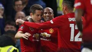 Ander Herrera, Ashley Young, Man Utd