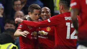 Ander Herrera, Ashley Young, Man Utd