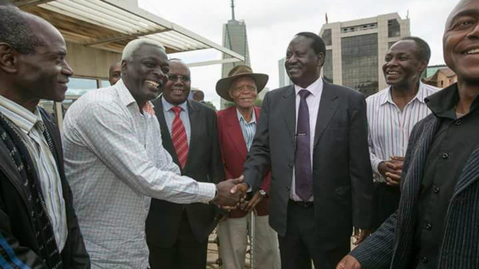 John Bobby Ogolla and Sam Nyamweya