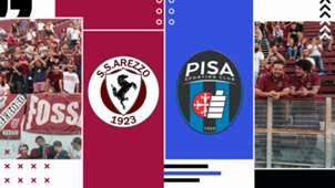 Arezzo-Pisa tv streaming