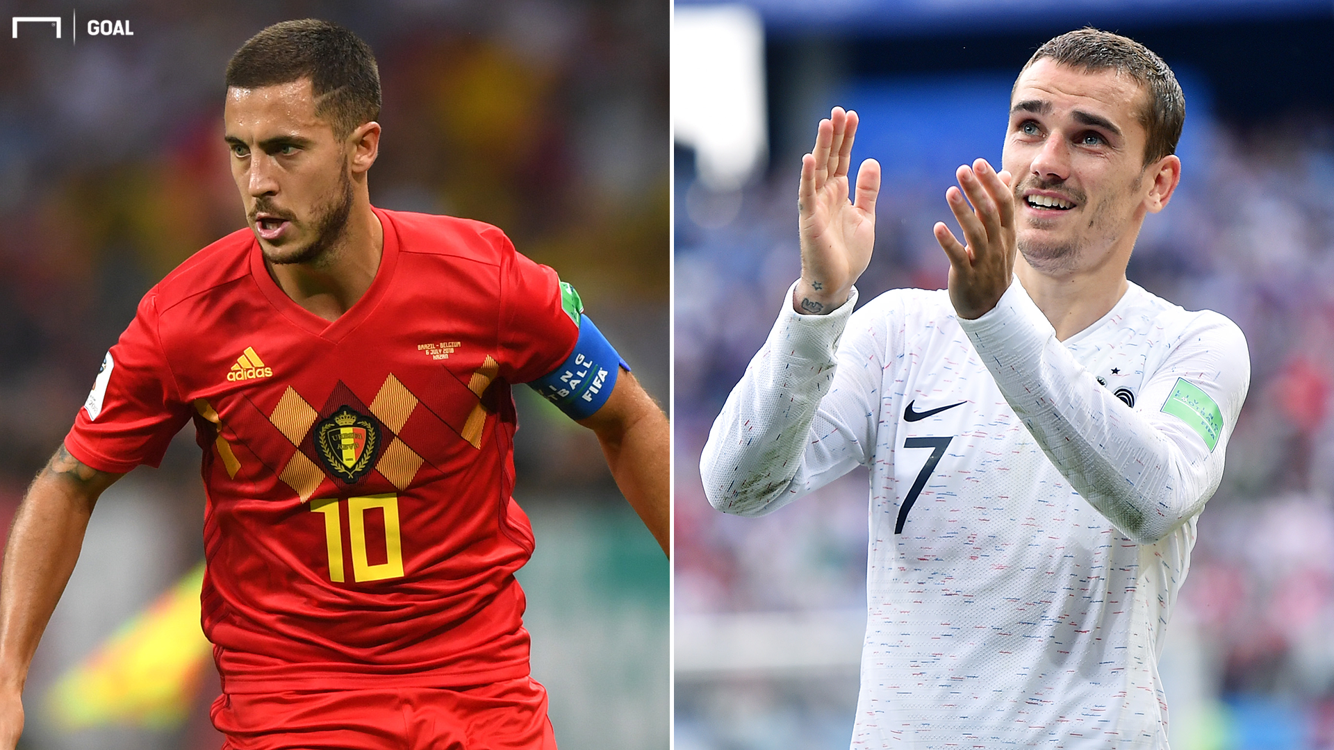 Belgium's big stars failed to turn up against France