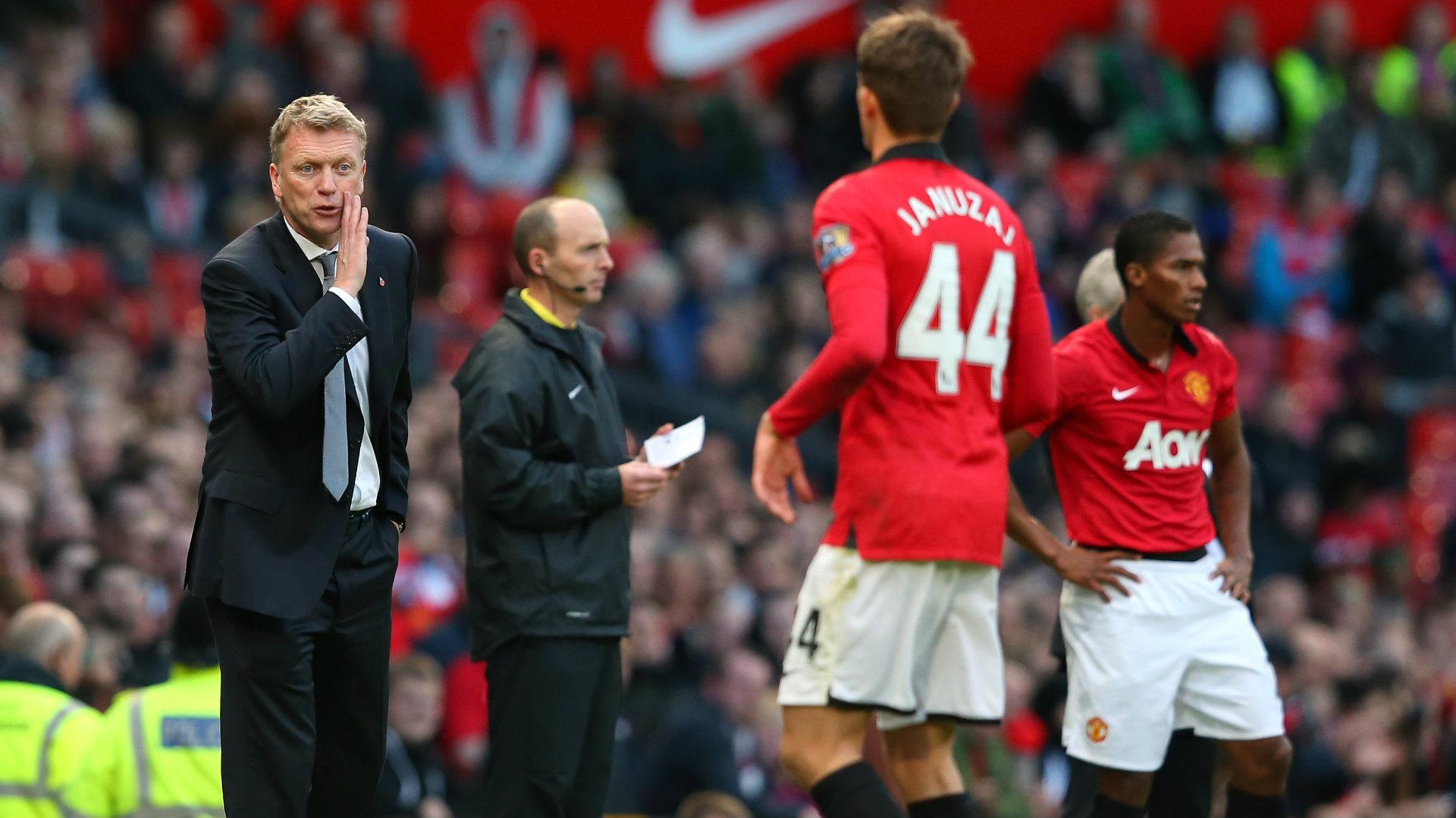 David Moyes, Adnan Januzaj, Manchester United