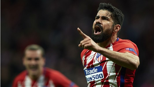 Diego Costa Atletico Madrid Arsenal Europa League