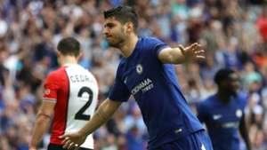 Alvaro Morata Chelsea Southampton