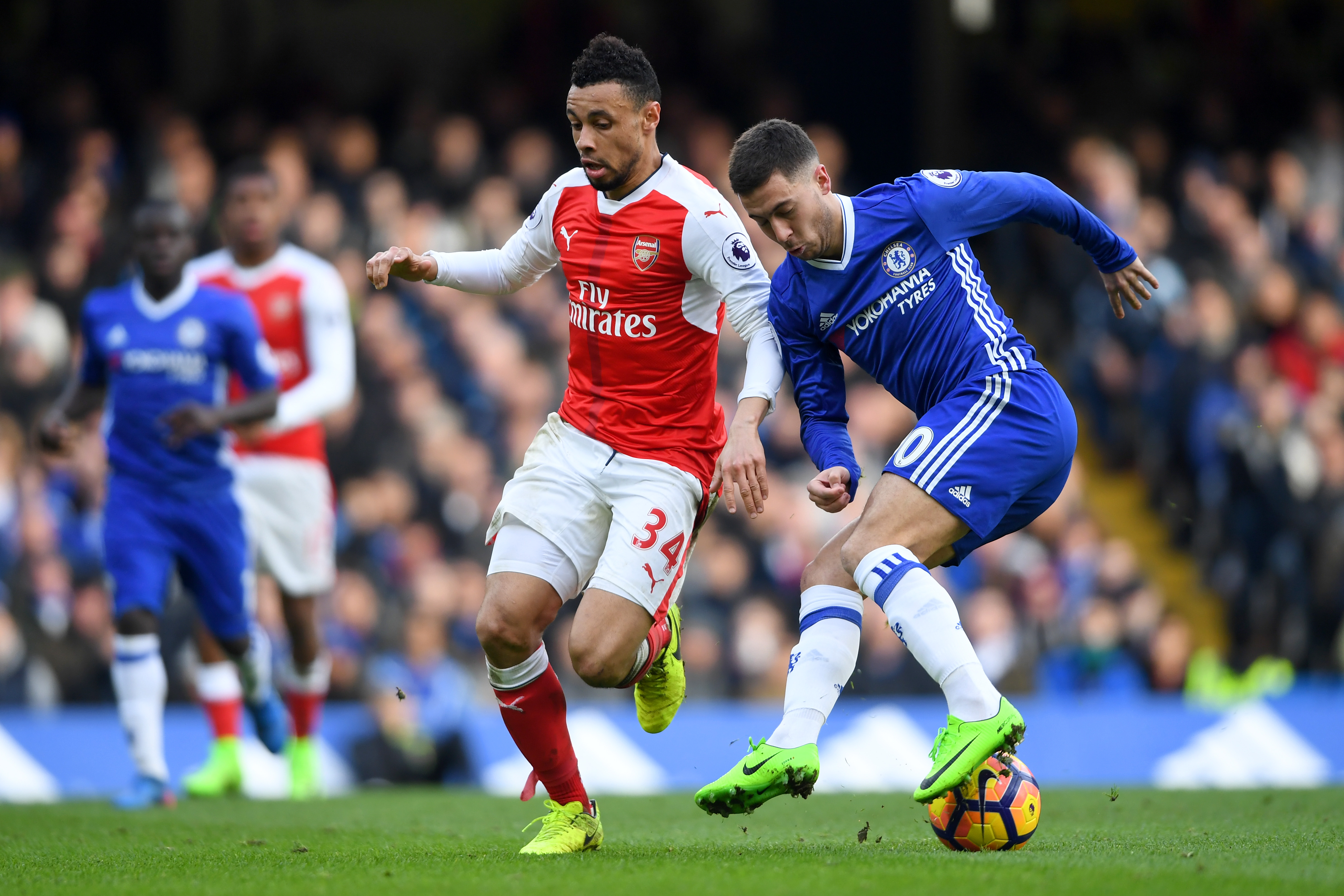 Odd for Chelsea to get another red card against Arsenal - Conte