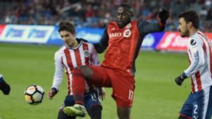Jozy Altidore Isaac Brizuela Toronto FC Chivas CONCACAF Champions League