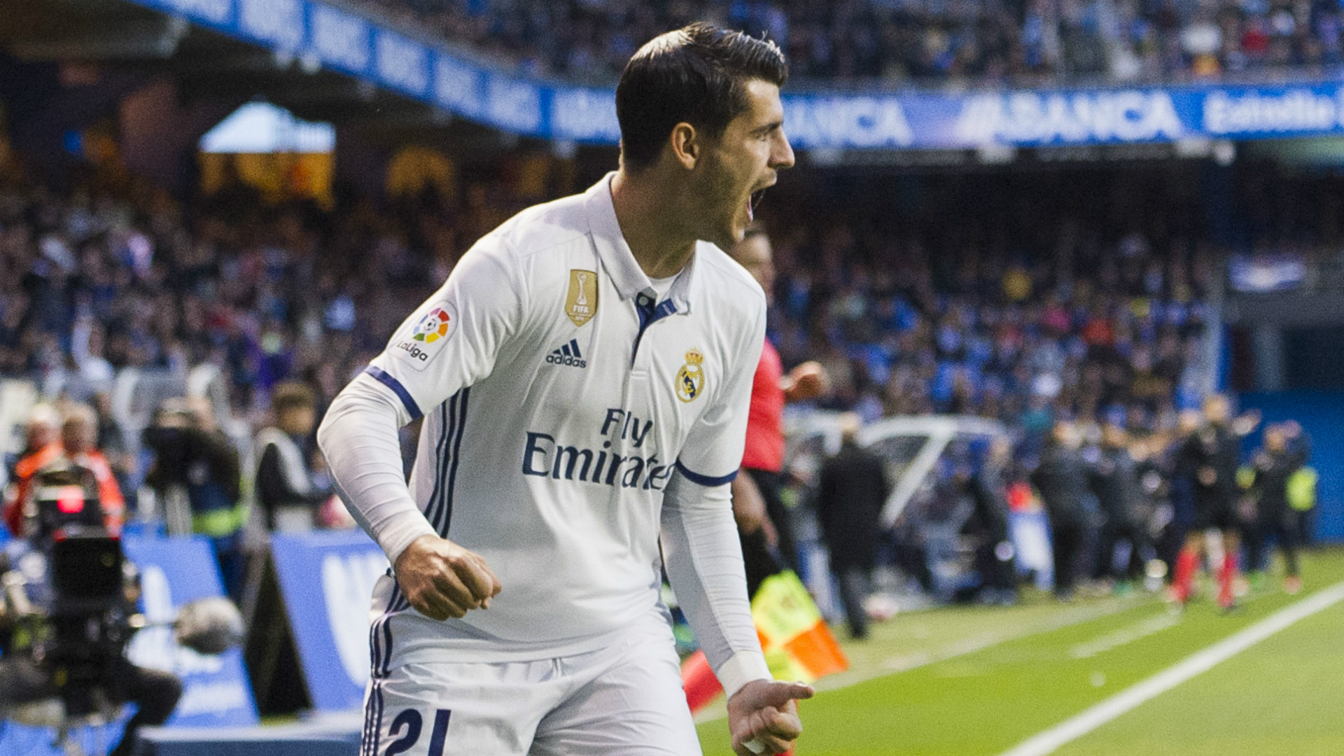 Alvaro Morata Deportivo Coruna Real Madrid LaLiga 26042017