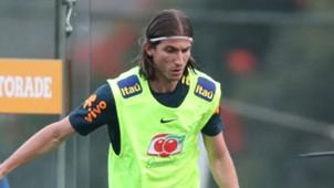 Filipe Luis Seleção Brasileira Granja Comary 25 05 2018