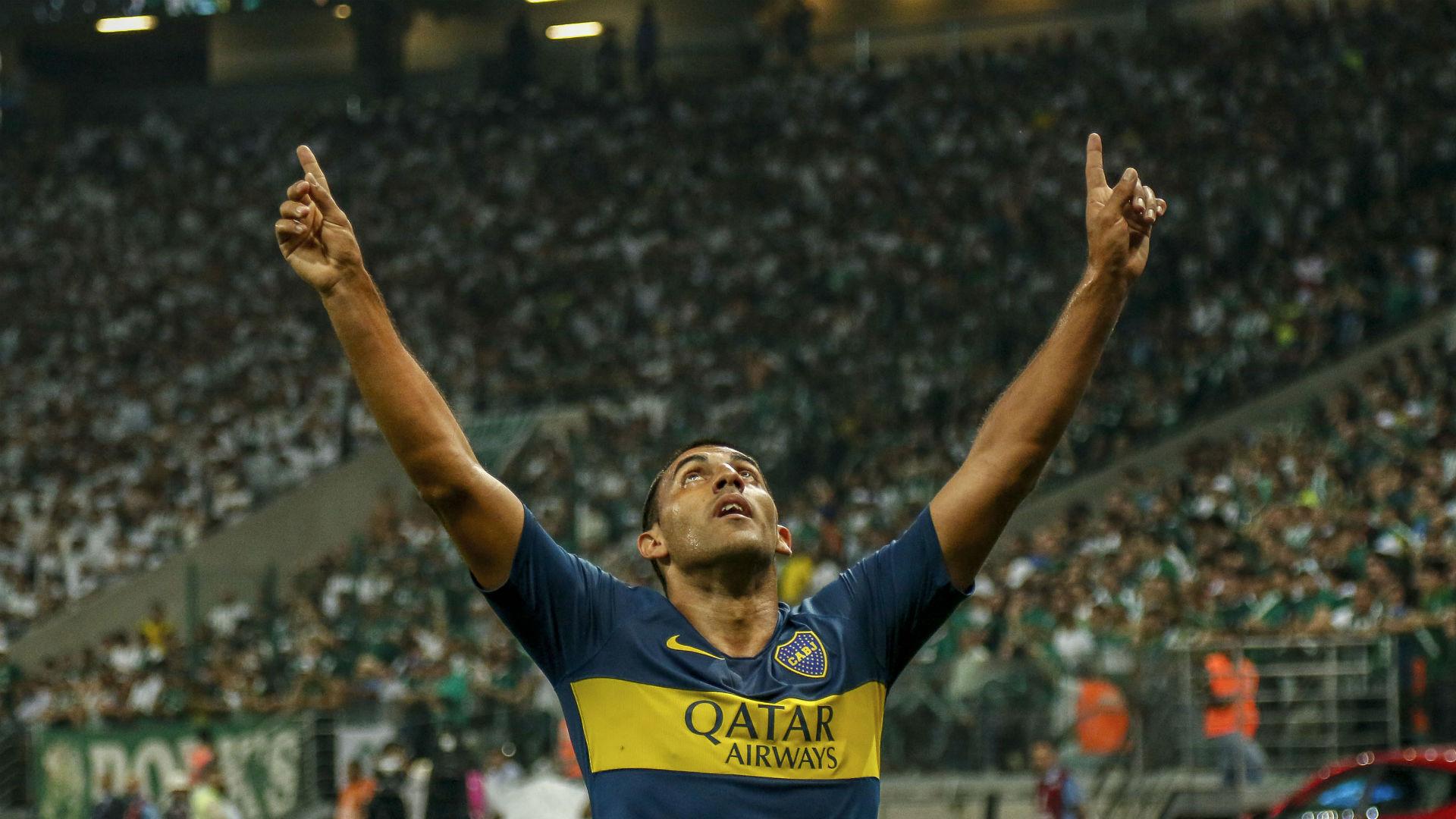 Wanchope Abila Palmeiras Boca Copa Libertadores 31102018
