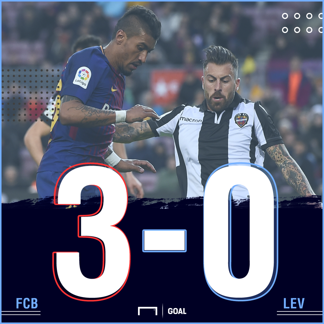 Barcelona Levante final score
