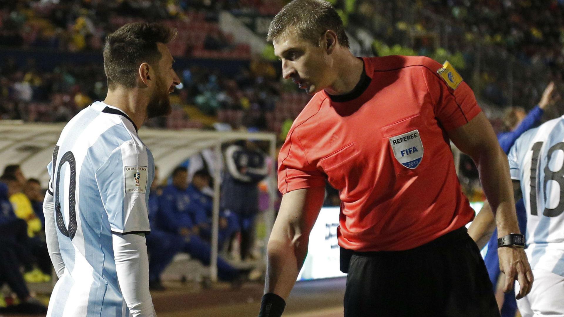 Anderson Daronco Messi Ecuador Argentina Eliminatorias Sudamericanas 10102017