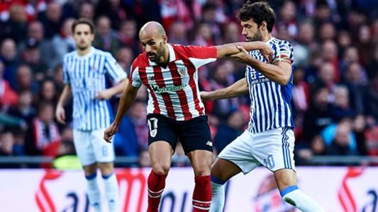 Mikel Rico Xabi Prieto Athletic Club Real Sociedad LaLiga