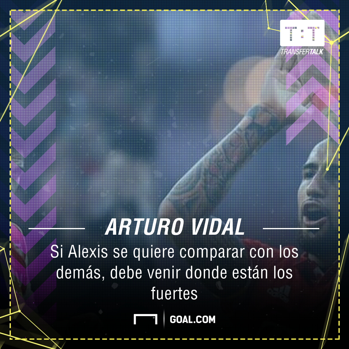 Arturo Vidal comment on Alexis Sánchez possible move to Germany