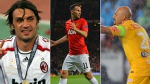 Maldini - Giggs - Pérez