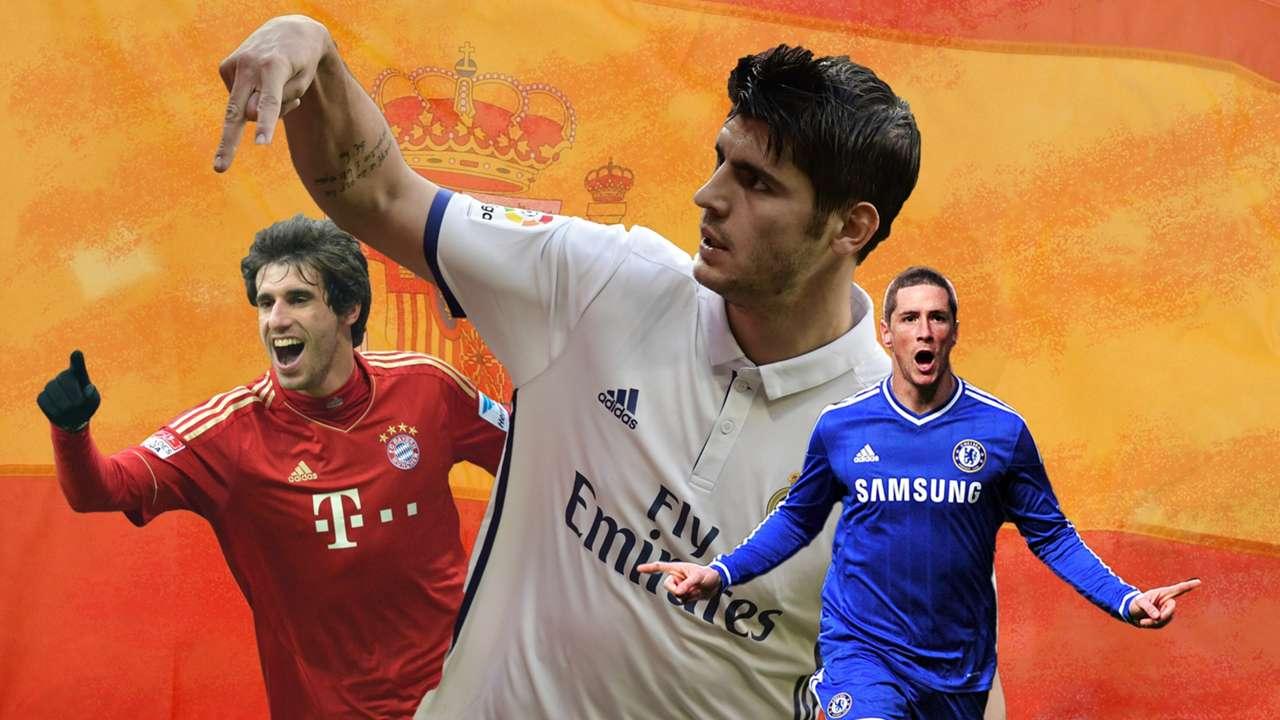 Alvaro Morata & Sepuluh Bintang Spanyol Termahal