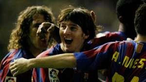Lionel Messi Barcelona Cadiz 2005