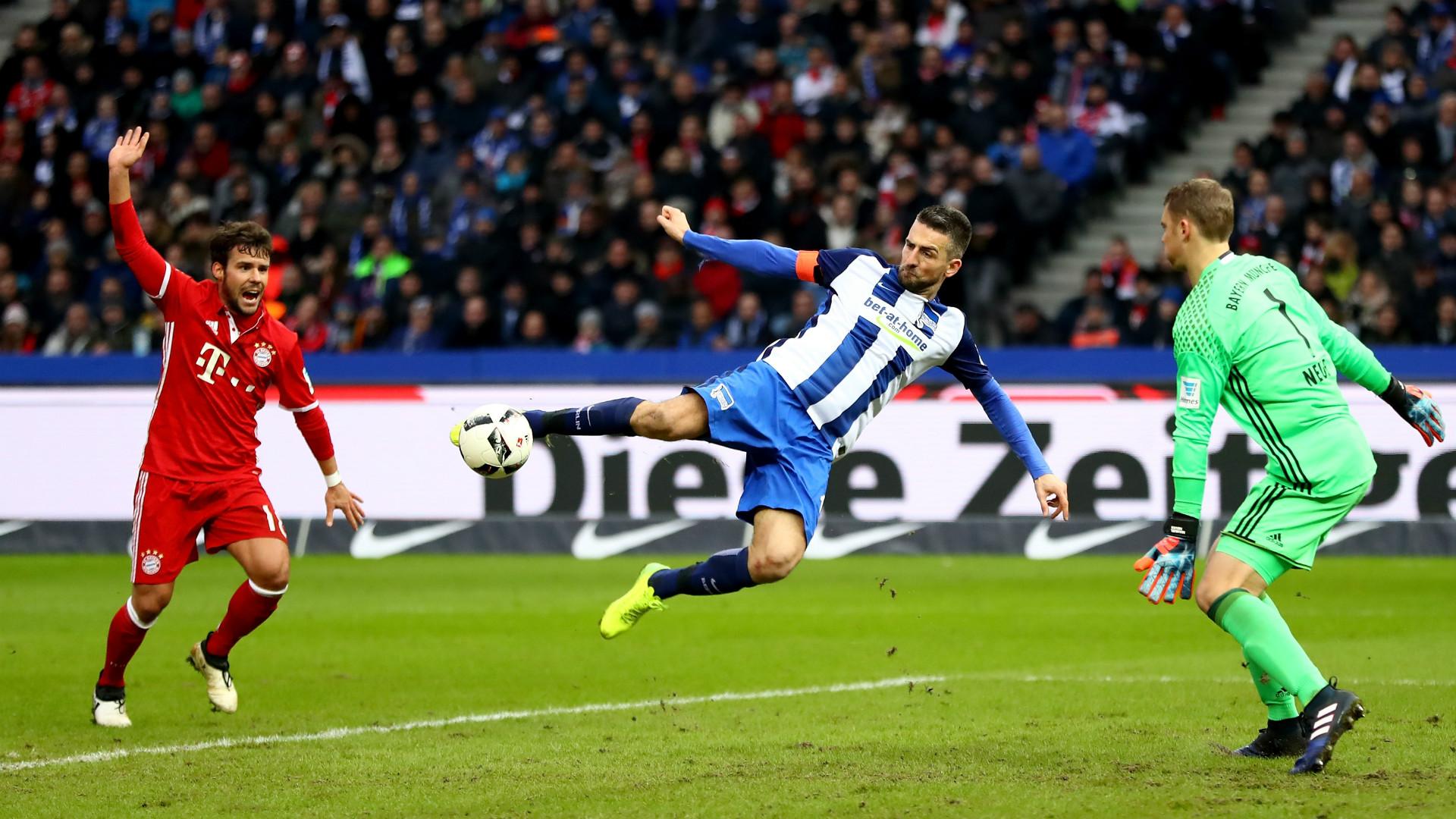 Vedad Ibisevic Hertha BSC Bundesliga