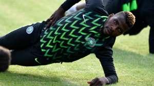 Nigeria training - Kelechi Iheanacho
