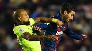 Arturo Vidal Barcelona 2018-19