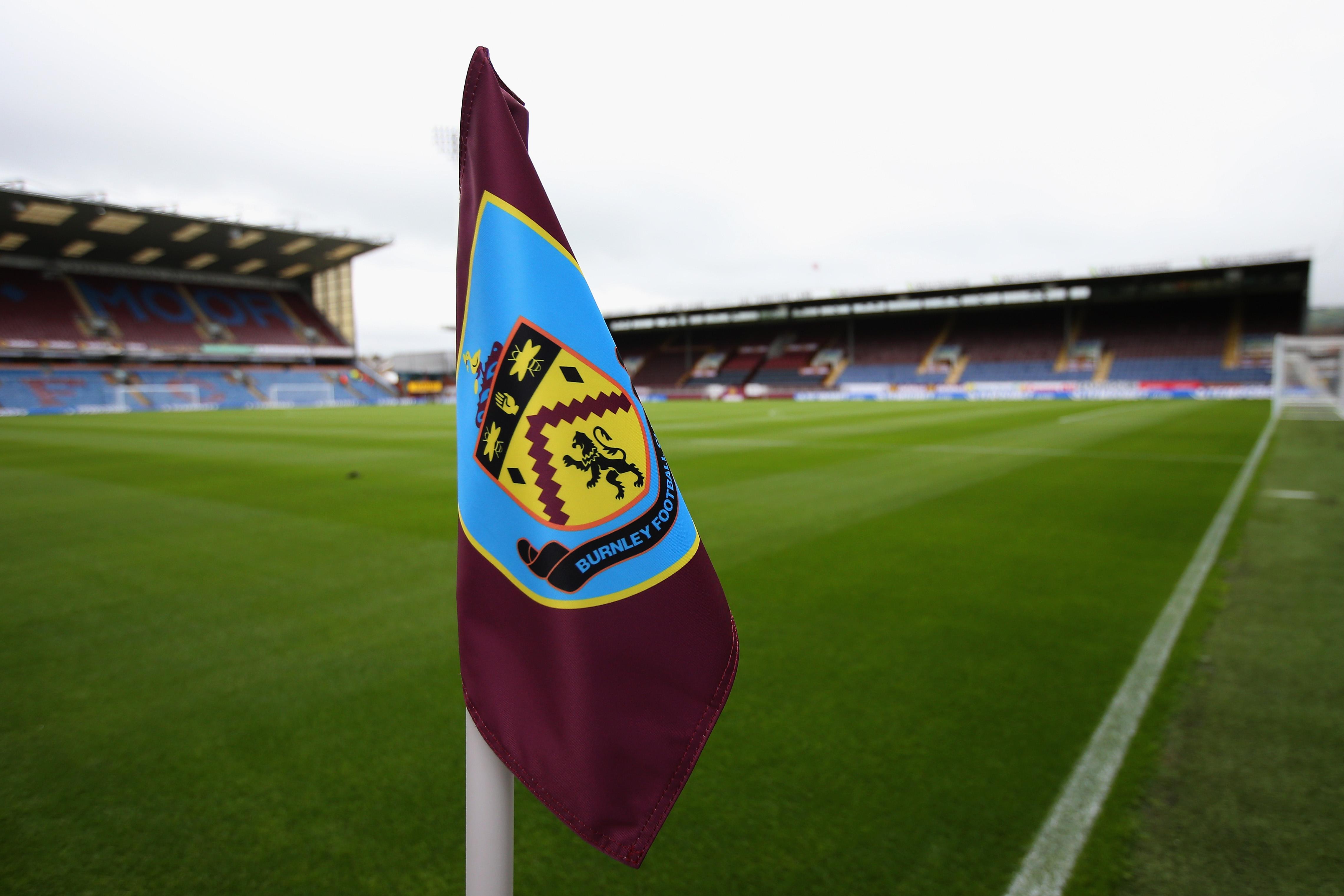FC Burnley Flagge