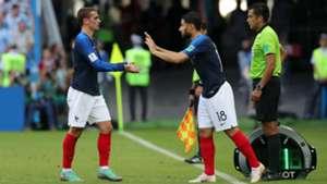 Griezmann Fekir France Argentina World Cup 2018