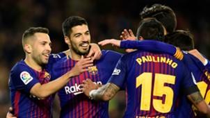 Luis Suarez Jordi Alba Barcelona