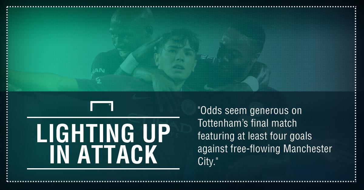 GFX Manchester City Tottenham betting