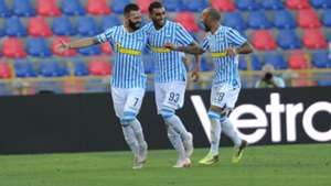 SPAL celebrates Mirko Antenucci vs. Parma