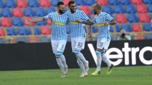 SPAL celebrates Mirko Antenucci vs. Parma