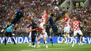 Mario Mandzukic France Croatia World Cup Final 15072018