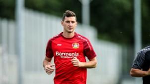 Lucas Alario Bayer Leverkusen 21092017
