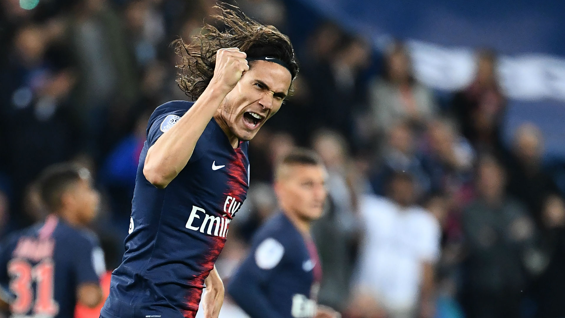 Edinson Cavani PSG Reims Ligue 1 26092018