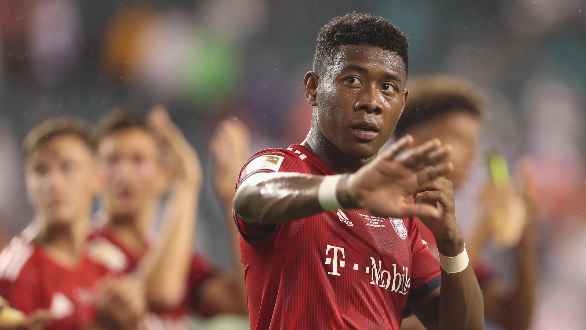 David Alaba FC Bayern München 07-2018