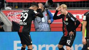 Kai Havertz Julian Brandt Bayer Leverkusen 23092018