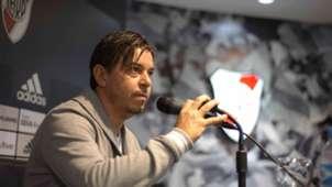 Marcelo Gallardo River Plate conferencia 2018