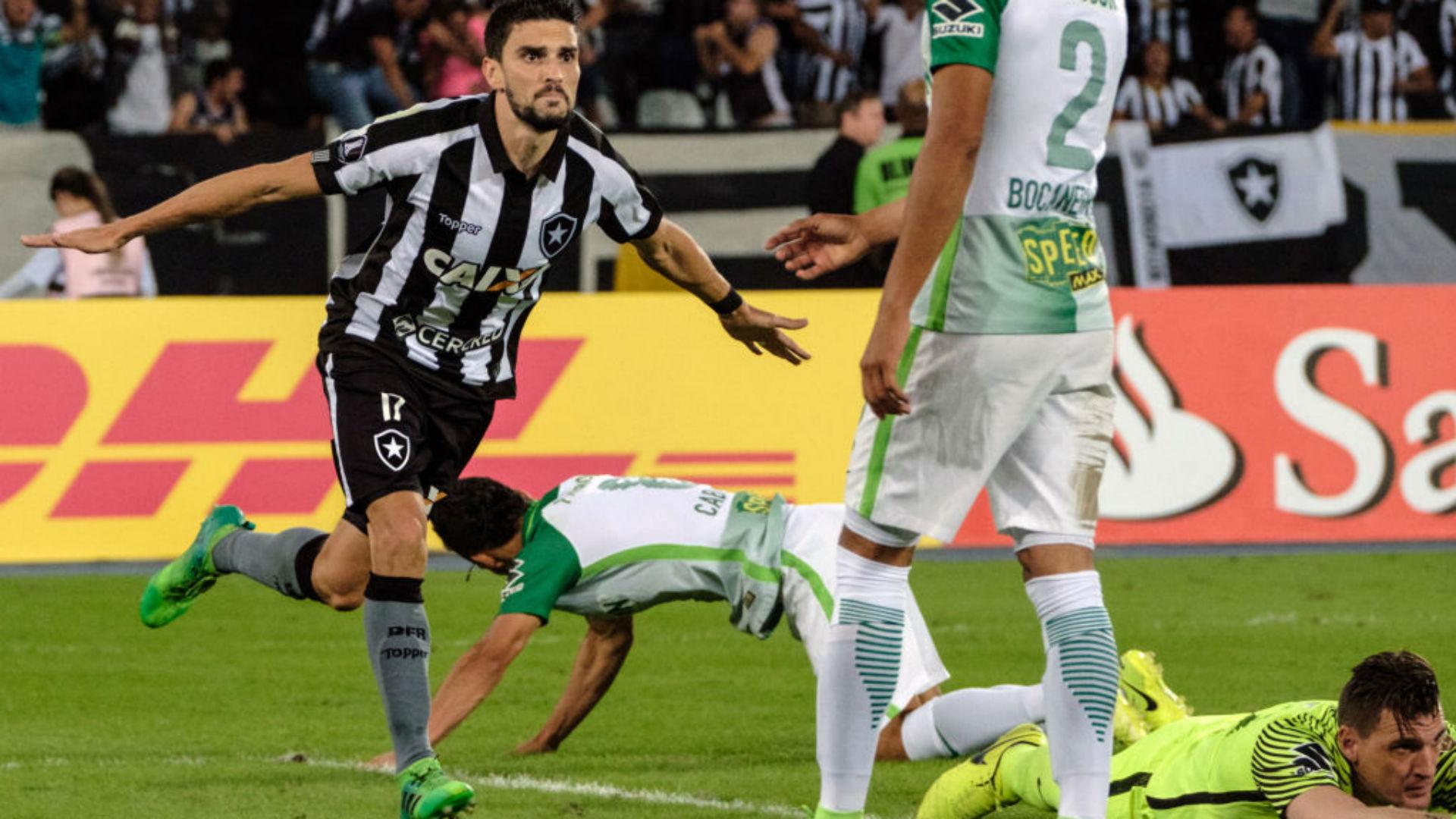 Rodrigo Pimpao Botafogo gol a Atlético Nacional Copa Libertadores 18052017