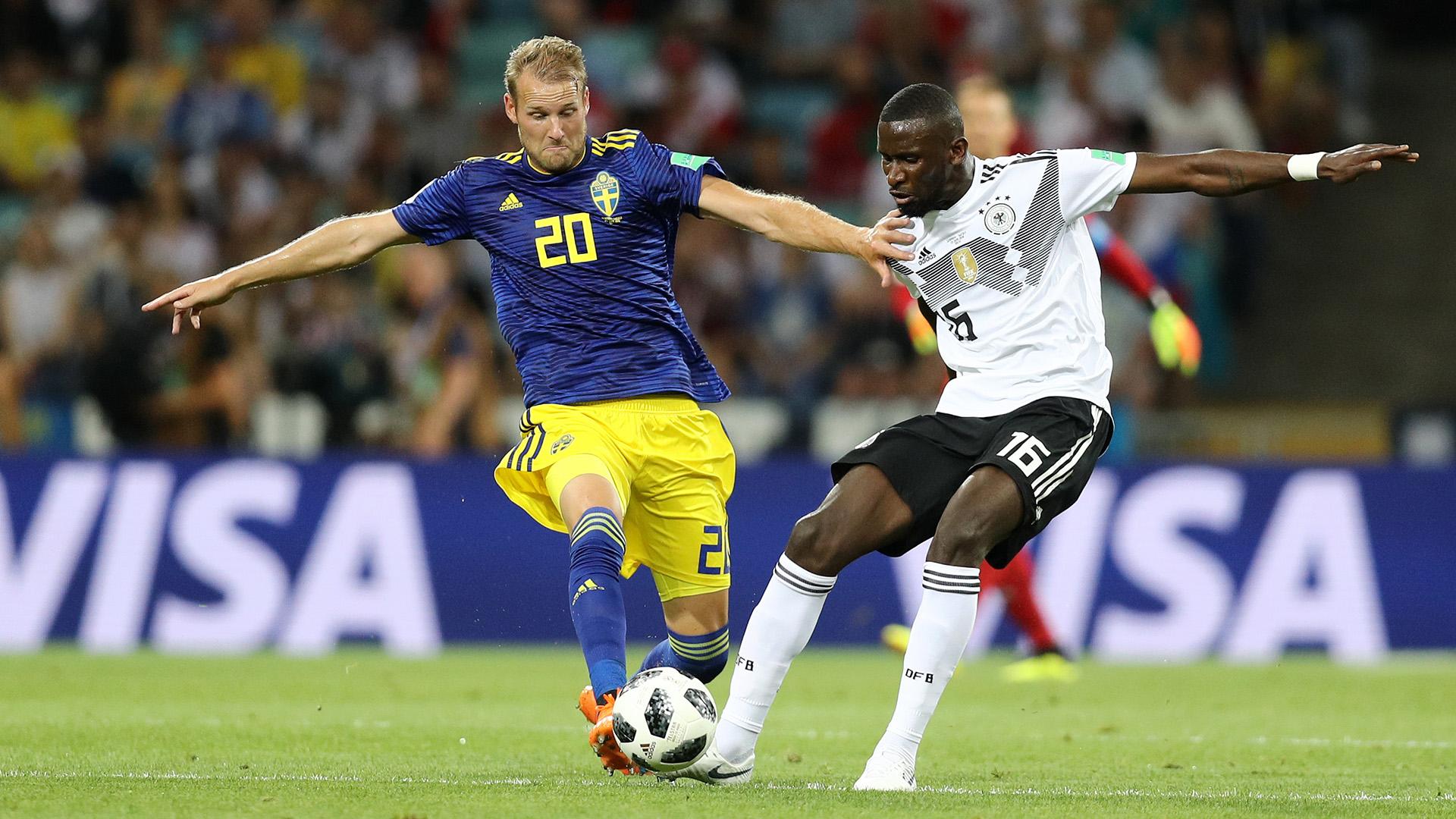Berg Rudiger Sweden Germany World Cup 2018